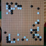 NHK杯戦囲碁 謝依旻6段 対 六浦雄太7段