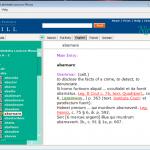 中世ラテン語辞書ソフト