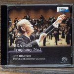 久石譲指揮、フューチャー・オーケストラ・クラシックスのブラームスの交響曲第1番