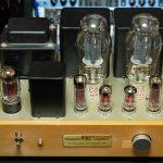 300Bシングルアンプ初号機の真空管を全てJJ製に取替え