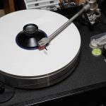 白いLPレコード