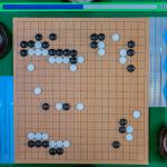 NHK杯戦囲碁 志田達哉8段 対 呉柏毅5段
