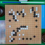 NHK杯戦囲碁 六浦雄太6段 対 羽根直樹9段