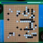 NHK杯戦囲碁 河野臨9段 対 上野愛咲美女流棋聖